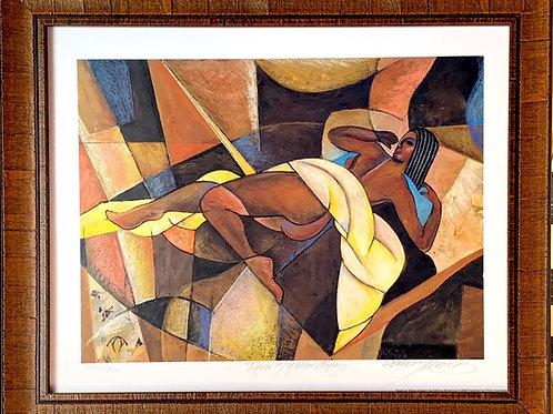 Nude w/yellow drapery 1444/1500