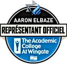 Logo Aaron Elbaze représentant officiel Krav Maga OIS. The Academc Colege At Wingate