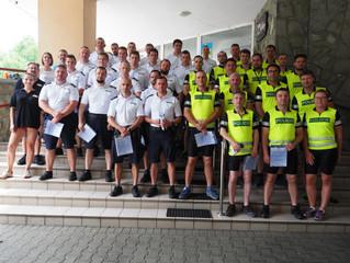 Security College - i kolejne przeprowadzone przez nią szkolenie, tym razem dla Policji