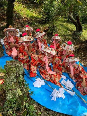 伝統芸能「勝坂神楽の舞」の継承