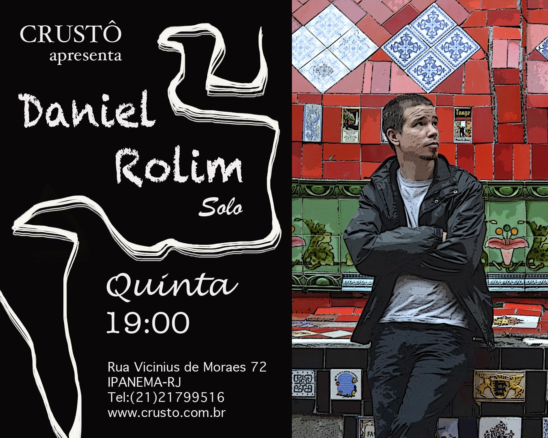 Daniel Rolim no Crusto (Ipanema)
