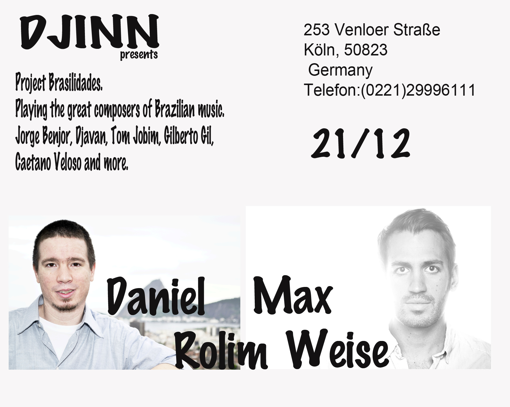 Show na Alemanha.