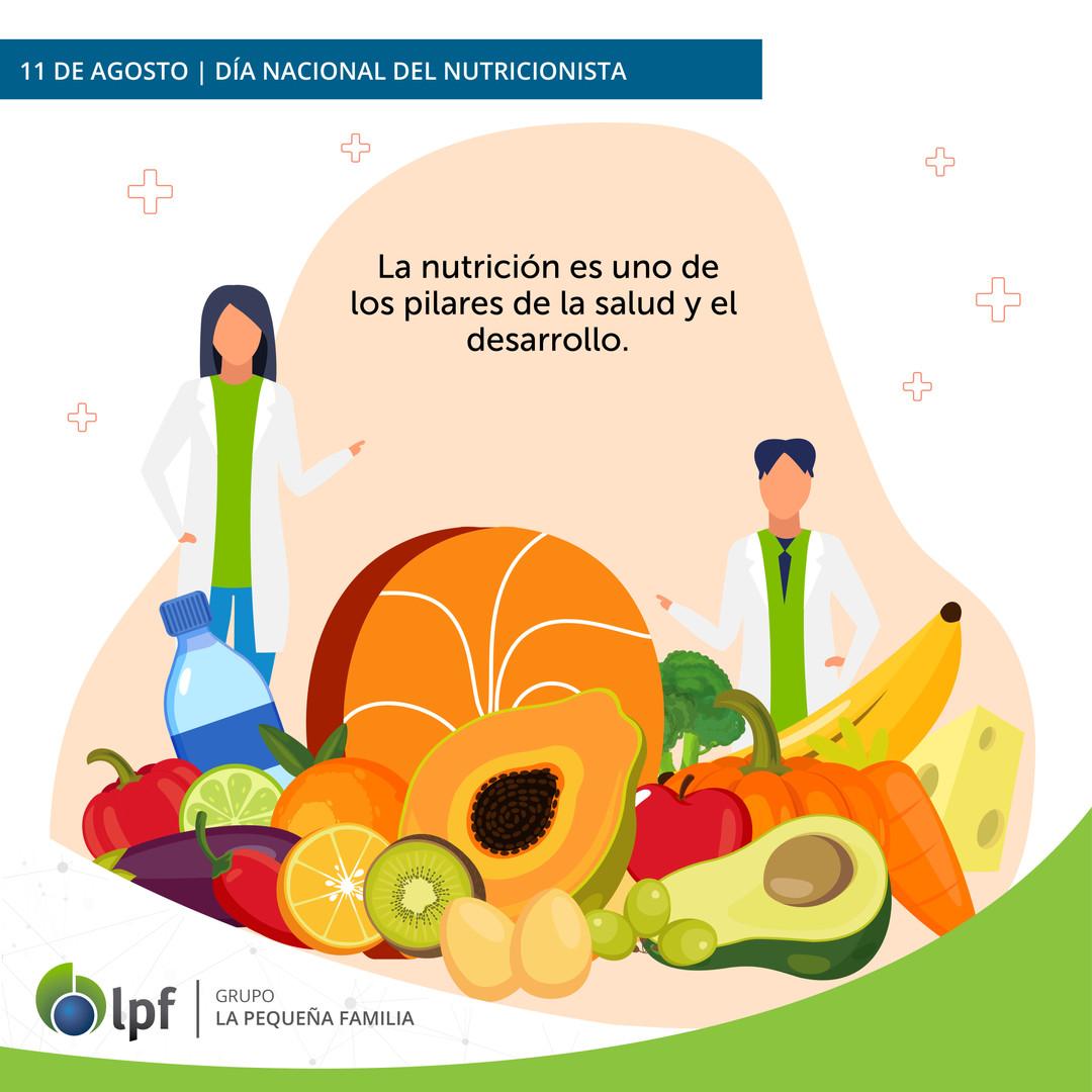 11/08 Día del Nutricionista
