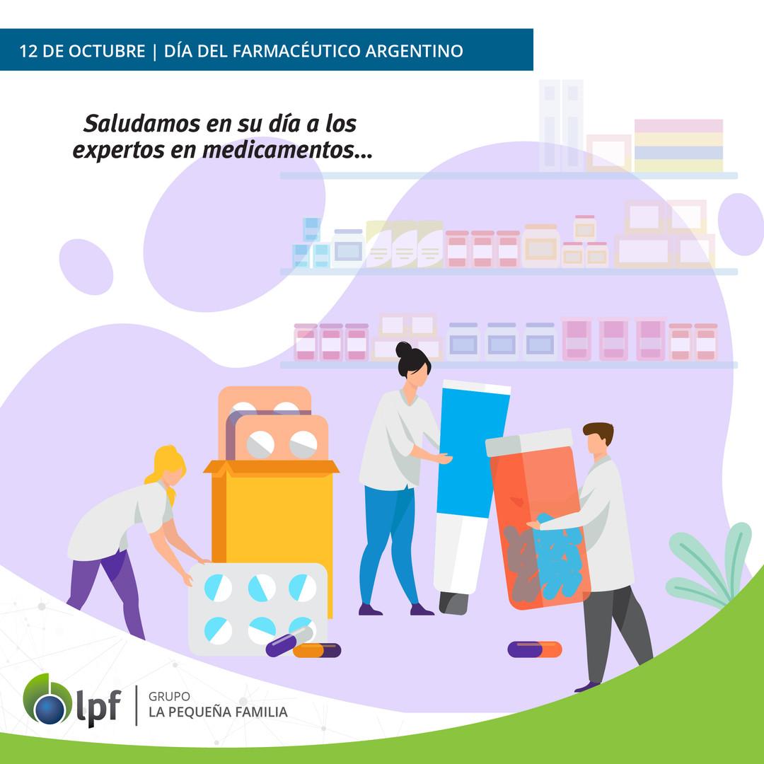 12/10 Día del Farmacéutico Argentino