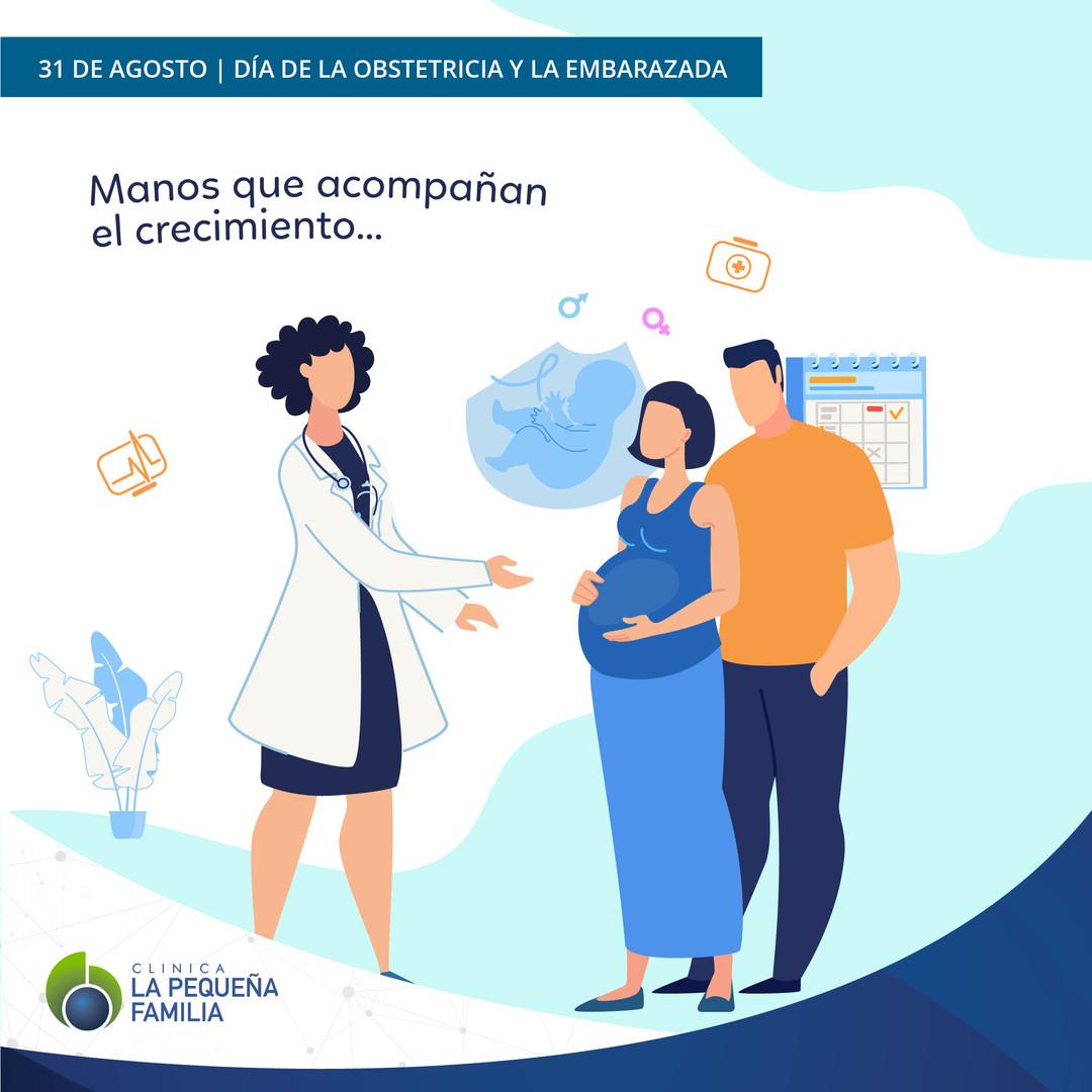 31/08 Día de la Obstetricia y la Embarazada