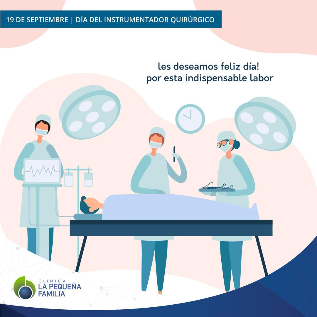 19/09 Día del Instrumentador Quirúrgico