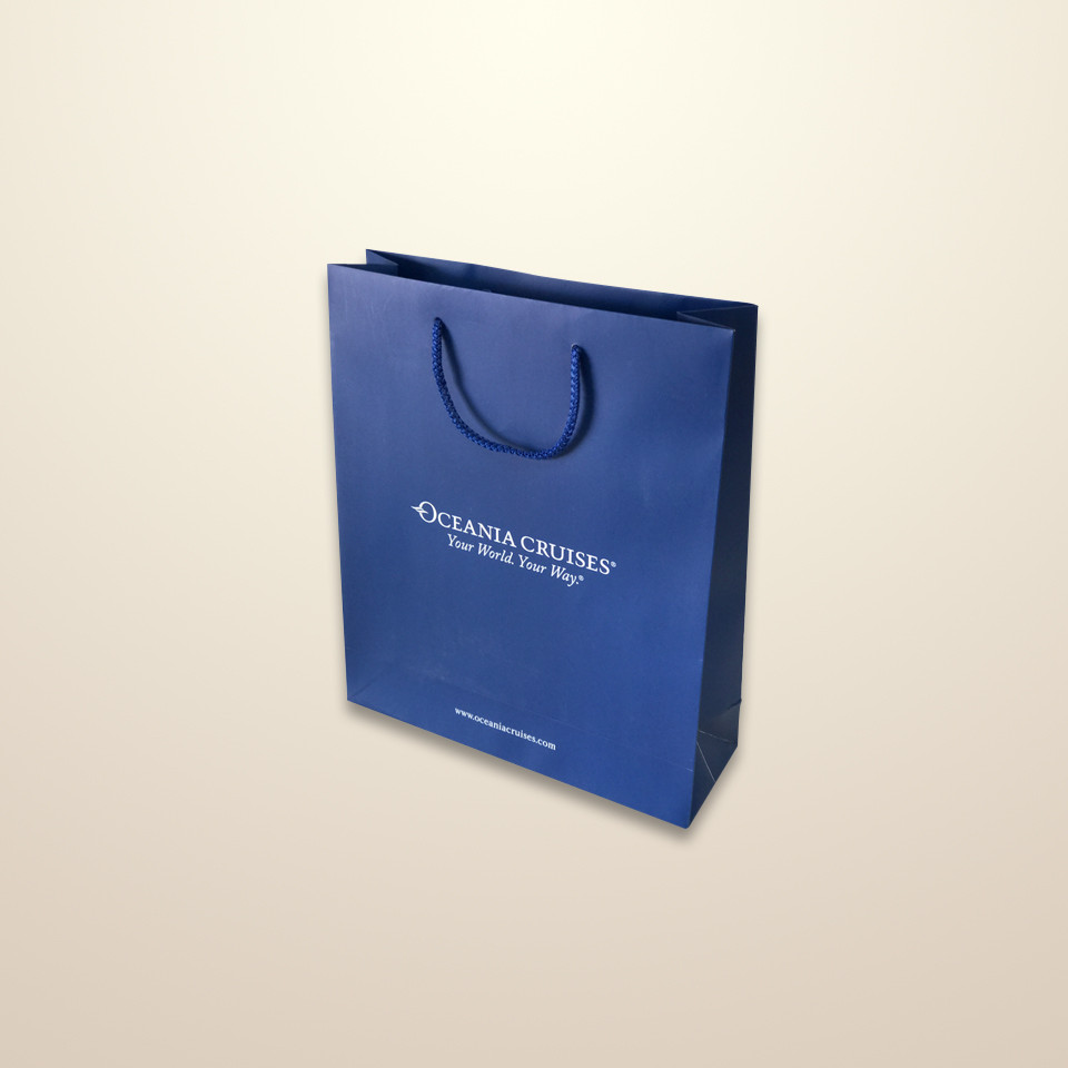 These bags are used for the retail sector and as gift bags. Printed paper bags offer huge scope for branding.