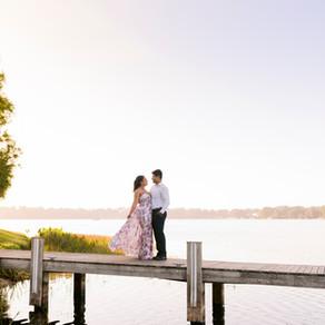 Te'a & Armand's Sunrise & Sunset Engagement