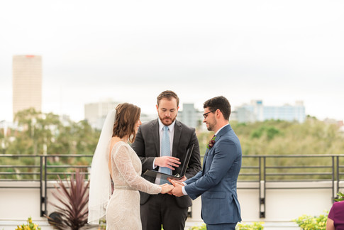 Rooftop 220 Wedding, Tampa