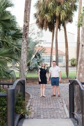 Enagement, Lake Eola, Downtown, Orlando, Florida