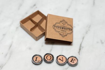 Vintage LOVE Magnets