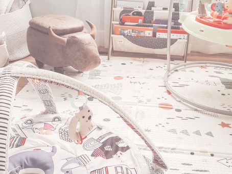HOW TO CREATE A PLAY AREA IN YOUR CURRENT LIVING SPACE