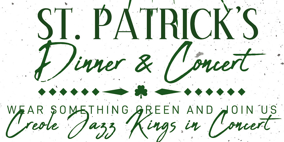 St. Patrick's Dinner and Concert