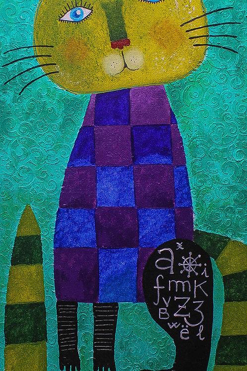 A cat (Sold)