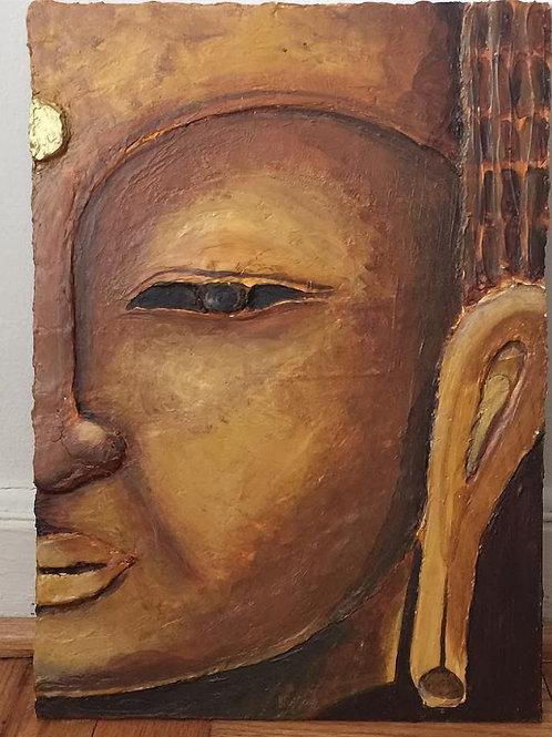 Buddha Head (Sold)