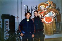 1989 Sifu Hong Tak Hung e Paolo Cangelosi