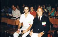 1984 Sifu Chan e Paolo Cangelosi Congresso