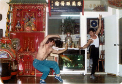 1988 Sifu Tze Cheon Yin e Sifu Cangelosi