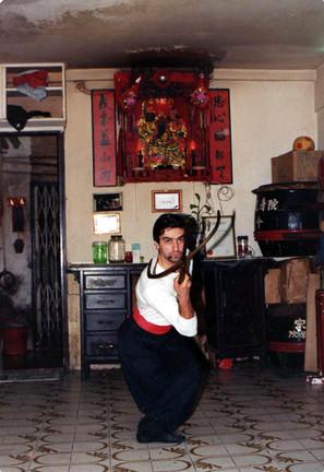 1985 Sifu con forcone