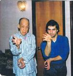 1985 Sifu Tang e Paolo Cangelosi