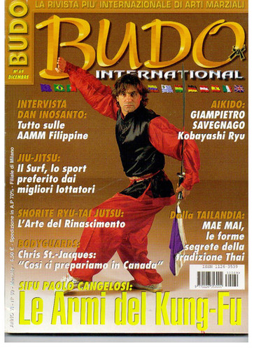 copertine Budo International