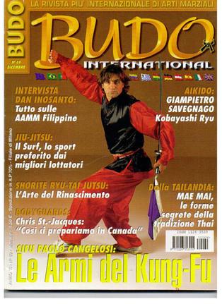copertine Budo International
