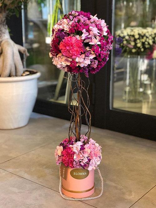 fresh elegant flower tower