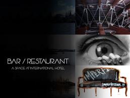 BAR / RESTAURANTE: Un espacio único de un hotel internacional.