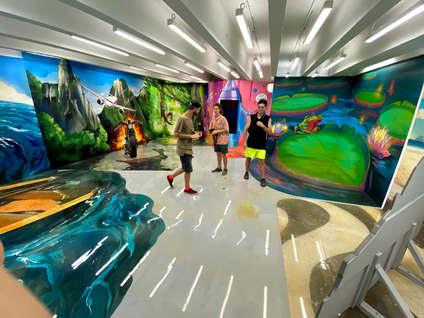 Большая Выставка 3д картин