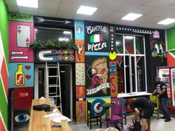 Граффити для пиццерия