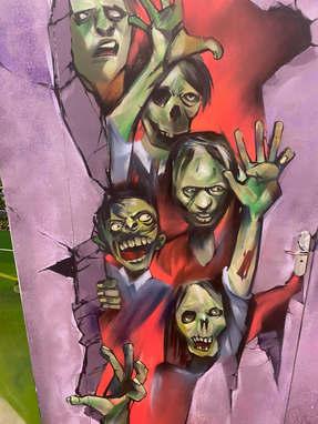 Пранк граффити