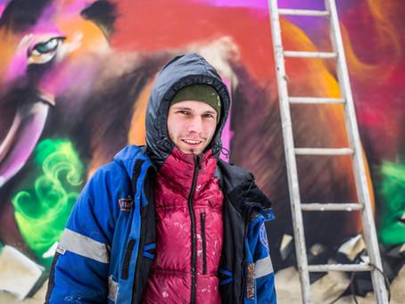 Граффити в Якутии