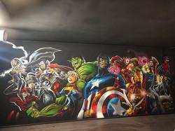 Marvel heroes for VR game studio _#dem51