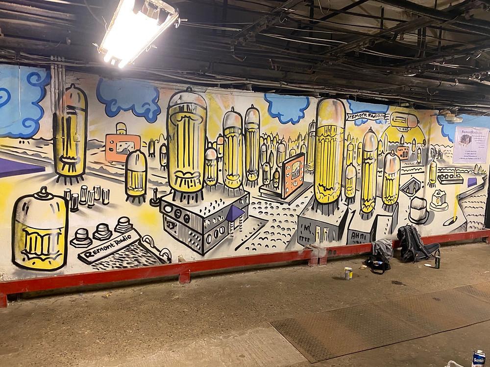 Граффити роспись, оформление стен, художник для росписи стены