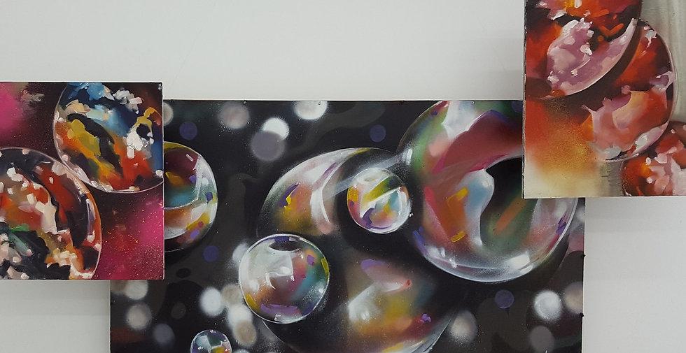 Абстрактная композиция. Холст и масло Дмитрий Брагин