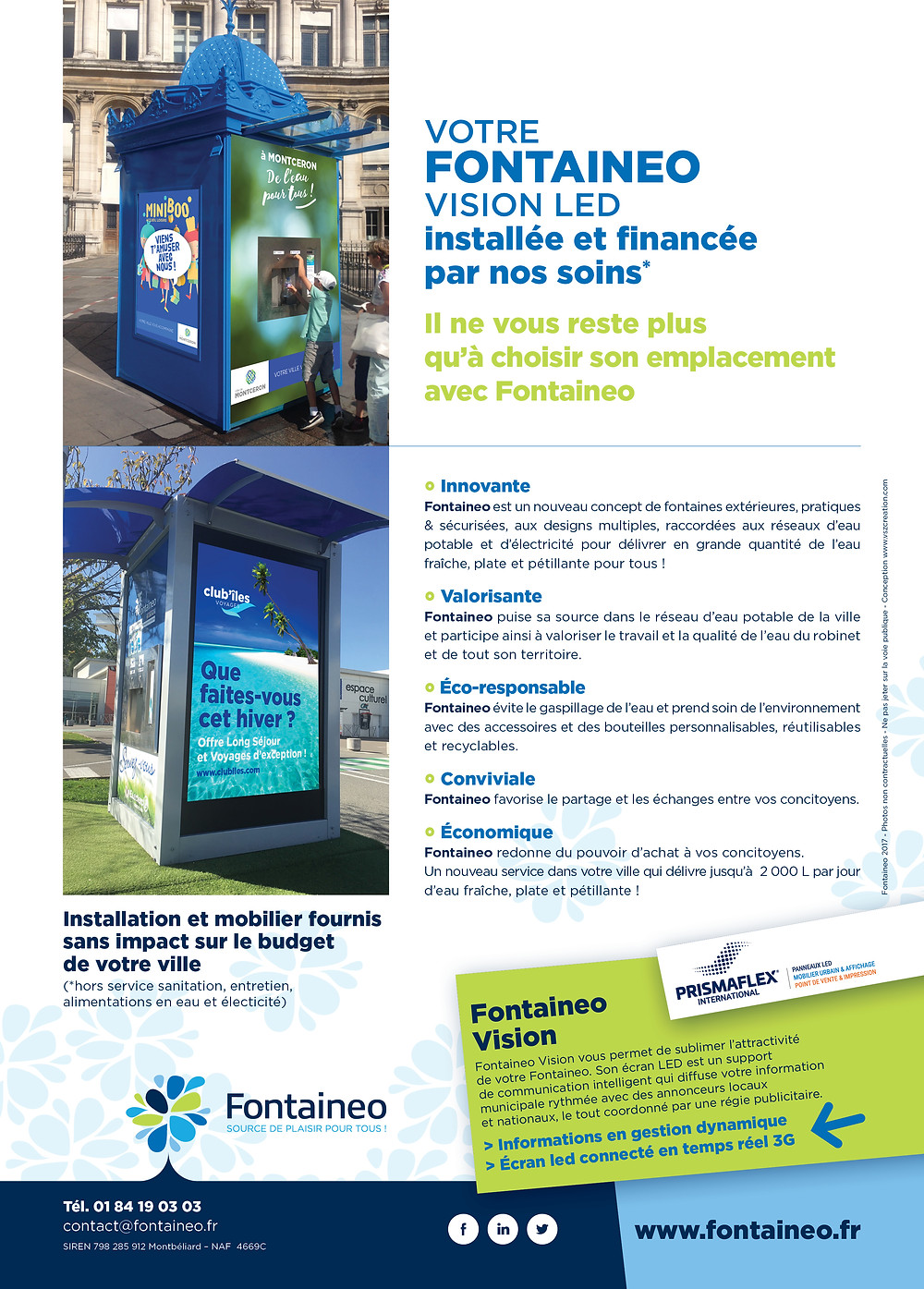 Flyer Fontaineo