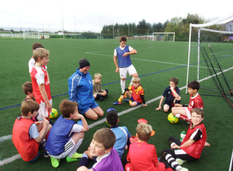 Making new friends this summer at Football Holiday clubs
