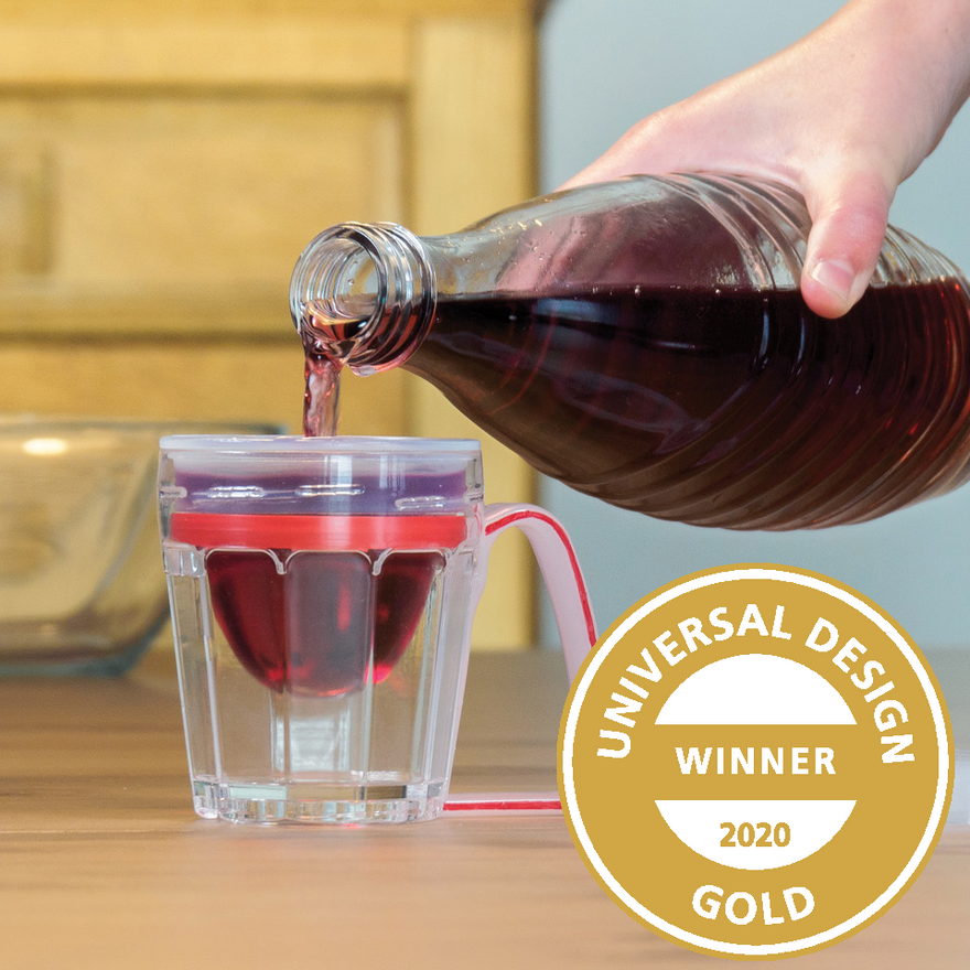 UNIVERSAL DESIGN GOLD winner 2020: sippa home, iuvas medical GmbH