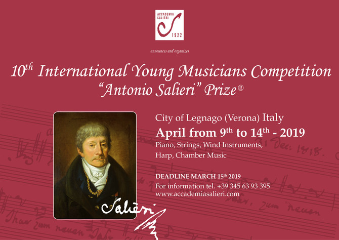 10th INTERNATIONAL YOUNG MUSICIANS COMPETITION