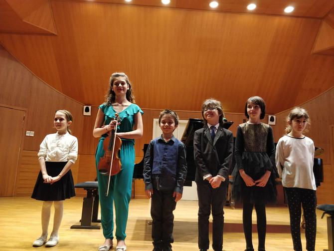Concerto dei Giovani Finalisti al  IX Concorso Internazionale - Premio A. Salieri - Domenica 6 Maggi
