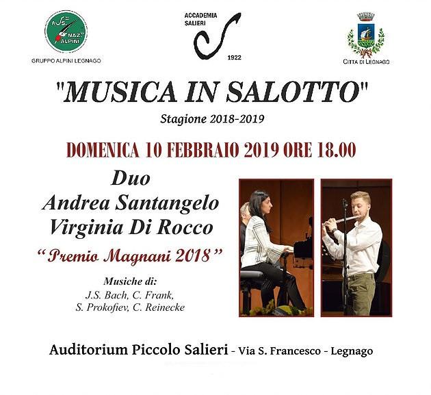 Musica in salotto - stagione 2018-2019