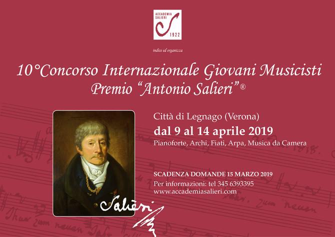 10° CONCORSO INTERNAZIONALE GIOVANI MUSICISTI