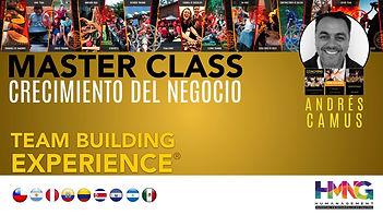 MASTER CLASS CRECIMIENTO DEL NEGOCIO TBX