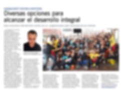 Diario El Mercurio 27 Septiembre 2017 Entrevista a Humanagement