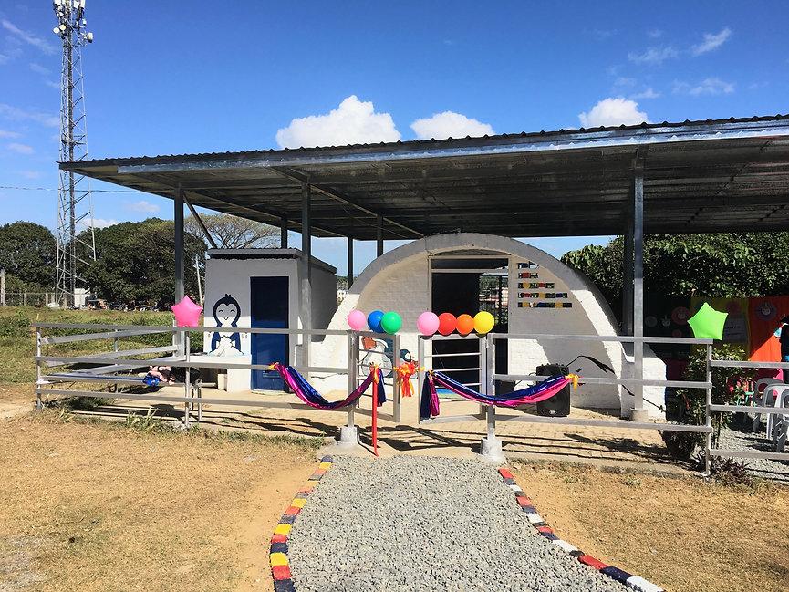 Partida Day care centre renovation, earth building renovation
