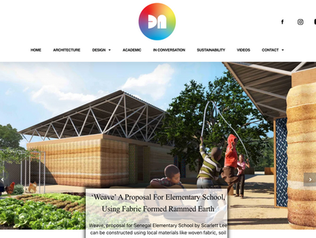 'Weave' Senegal Elementary School is featured at Design Nuance