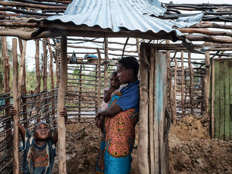 The importance of water-resistant earth construction techniques in developing countries