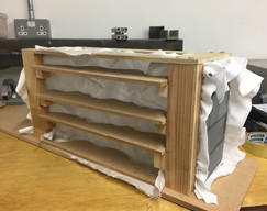 Fabric Formwork for Rammed Earth