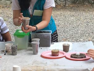 Earthen Candle Holder Workshop