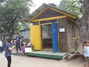 How mudbrick day care centres have developed in Muzon, Philippines